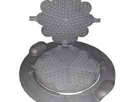 Vaflinė iš ketaus, čirvinių blynų keptuvė