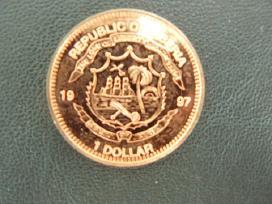Liberija Panda 1 Dollar