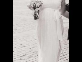 Vestuvinė suknelė neštukei