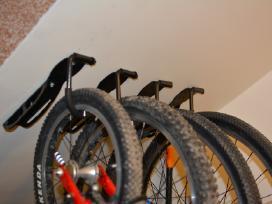6 dviračių laikikliai