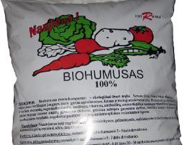 Parduodam biohumusą įvairiais kiekiais.