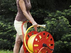 Ritės-vežimėliai Žarnai susukti iki 30 rušių