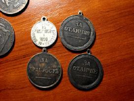 4 medaliai. Kopijos