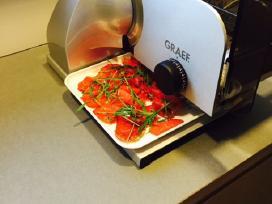 Profesionalios gastronominės pjaustyklės - Graef