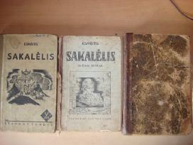 Antikvarinis vadovelis Sakalelis