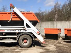 Statybinių Atliekų Išvežimas, Konteinerių Nuoma