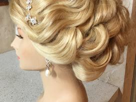 Proginė/vestuvinė šukuosena - nuotraukos Nr. 15