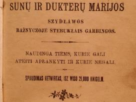 Seniausia lit., spaudos draudimo laikotarpis,1862m