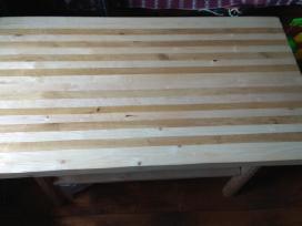 Paruodu medini stala is uozo/berzo 100x58cm, h54cm