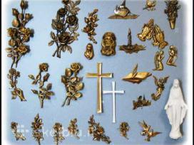 Paminklai, Skulptūros, Raidės, Kryžiai - nuotraukos Nr. 5