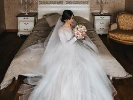 Ypatinga vestuvinė suknelė Tiulio feja