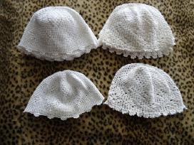 Megztos kepurėlės mergaitėms