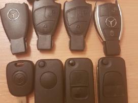 Mercedes benz raktai korpusai M,s,c , E ml raktas