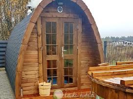 Lauko pirtis sauna - namukas 3m ilgio
