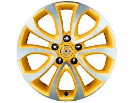 17 colių Nissan Diamond Cut ratlankiai su padangom
