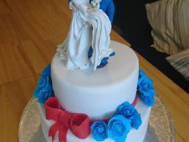 Vestuviniai, vaikiski tortai ir kiti skanestai - nuotraukos Nr. 6