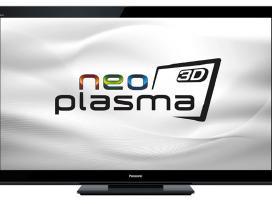 Parduodamas plazminis televizorius Panasonic su 3D