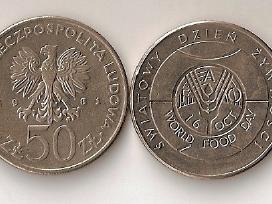 Lenkija 1981 50zl.swiatowy dzien zywnosci