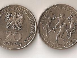 Lenkija 1979 20zl.miedzynarodowy rok dziecka