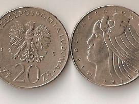 Lenkija 1975 20zl.miedzynarodowy rok kobiet