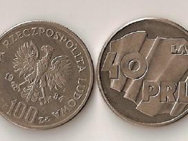 Lenkija 1984 100zl.40 lat Prl