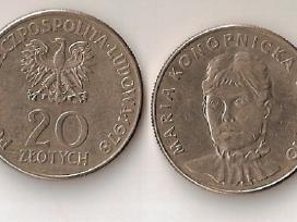Lenkija 1978 20zl.maria Konopnicka