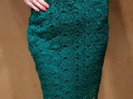 Zara žalia suknelė