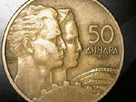 Jugoslavija Dinarai 1955-1990