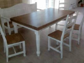Naturalios medienos stalai,kedes - nuotraukos Nr. 10