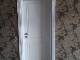 Durų gamyba. Uosio, ąžuolo masyvo durys.