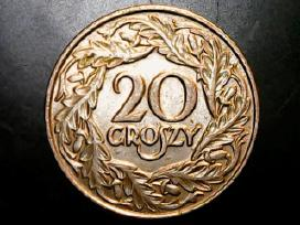 20 groszy Lenkija 1923