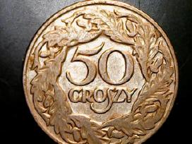 50 groszy.lenkija 1923