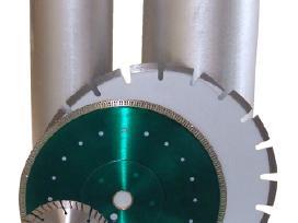 Deimantinės gręžimo karūnos, diskai statyboms