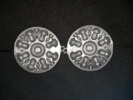 Senovinė Tarybinė forminė grybukų keptuvė kepimo