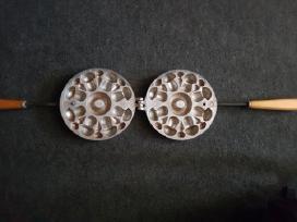 Senovinė naudota Tarybinė forminė grybukų keptuvė