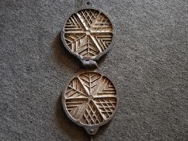 Senovinė Tarybinė sausainiu keptuvė, kepimo forma