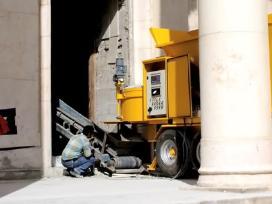 Mobilus betono mazgas