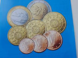 Euro monetos apyvartinės(pagal metus)