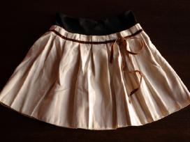 Klostuotas sijonas Xs/s Apricot