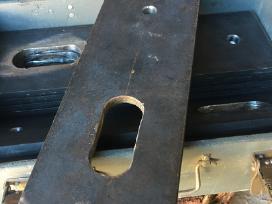 Metalinė detalė krovinių pakėlimui kranu 10,5 mm