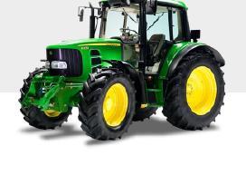 Traktorius John Deere variklis Dalys