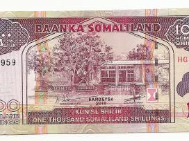 Somalilandas 1000 shillings 2015 P27c
