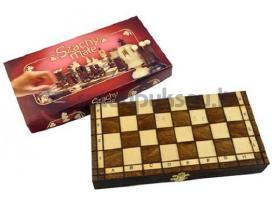Šachmatai, šaškės Royal (4 rūšis)