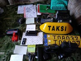 Taksį įranga,dokumentac.skirta-taksisto darbui !