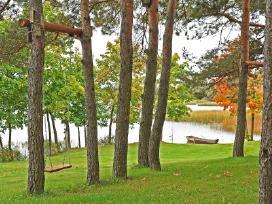 Jaukus namelis - pirtelė dviems ant ežero kranto - nuotraukos Nr. 12