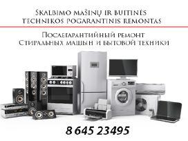 Idaplovių ir skalbimo mašinų remontas Vilniuje