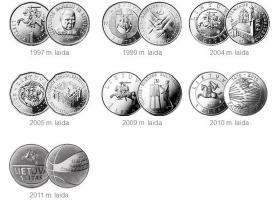 Pastoviai Naujinama- Lietuvos Monetos, Banknotai - nuotraukos Nr. 7