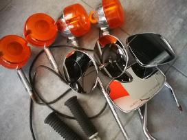 Harley Davidson veidrodeliai, posukiai ir kt