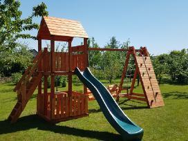 Vaikų žaidimo aikštelių gamyba