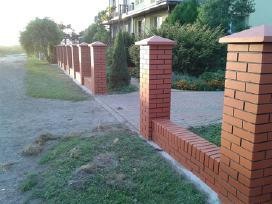 Tvoros segmentinės , medinės , metalinės , tinklas - nuotraukos Nr. 6